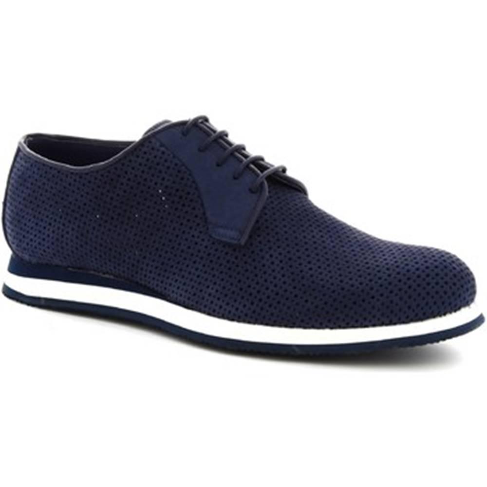 Leonardo Shoes Derbie Leonardo Shoes  398_3 PE NABUK BLUE