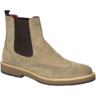Polokozačky Leonardo Shoes  U581 PE CROSTA IN FA 8264 C024