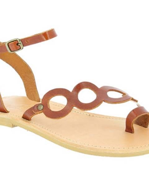 Hnedé topánky Attica Sandals