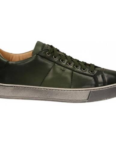 Zelené topánky Santoni