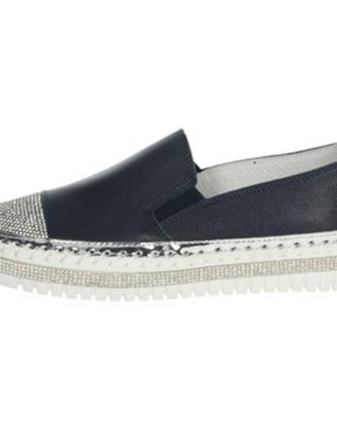 Modré topánky Nina Capri