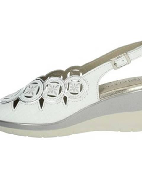 Biele topánky Pitillos
