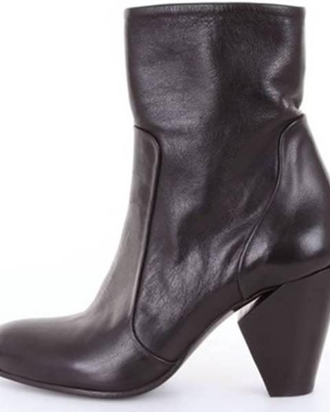 Čierne topánky Stephane De Ran