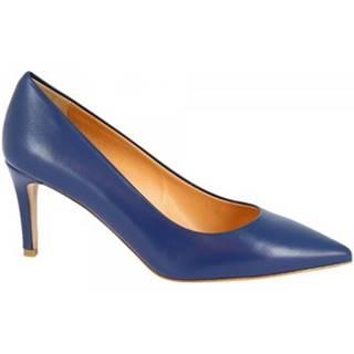 Lodičky Leonardo Shoes  E1250 NAPPA BLU