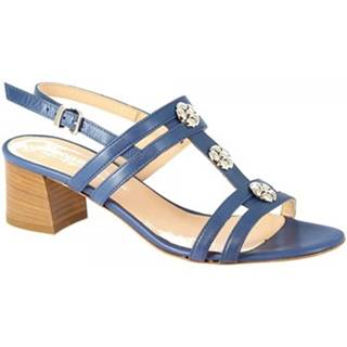 Sandále Leonardo Shoes  5130 VITELLO COBALTO