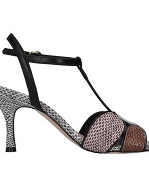 Čierne topánky Paolo Mattei