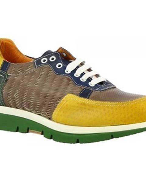Viacfarebné tenisky Leonardo Shoes