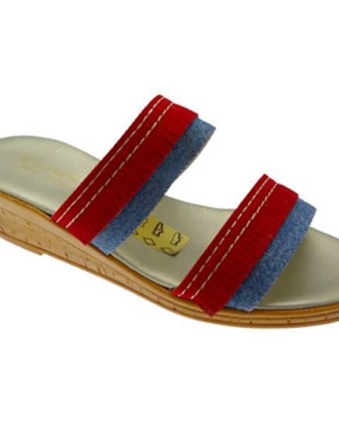 Červené topánky Cristina
