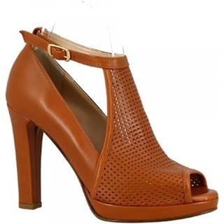Sandále Leonardo Shoes  125 FORMA 5126 NAPPA SELLA
