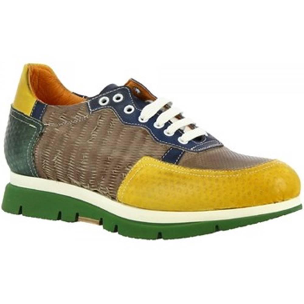 Leonardo Shoes Nízke tenisky Leonardo Shoes  RUND08 PELO FANGO