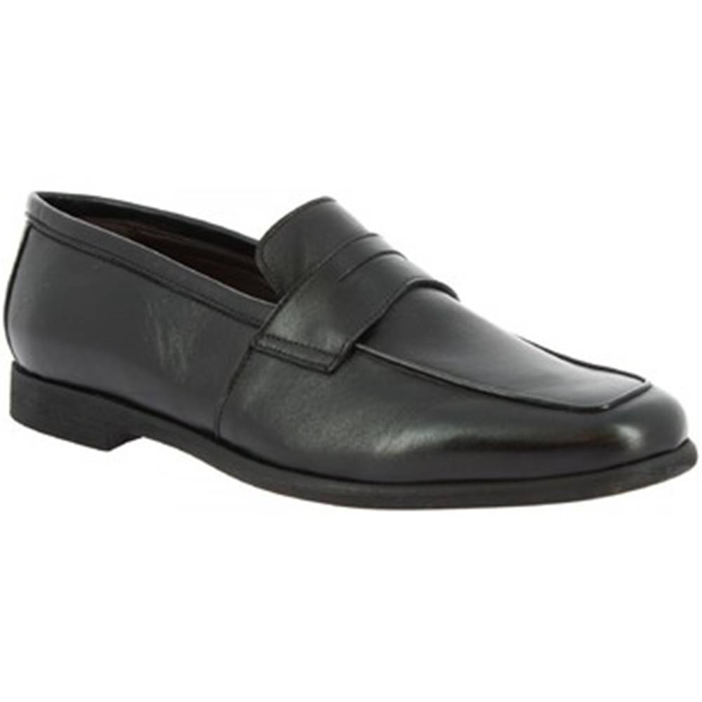 Leonardo Shoes Mokasíny Leonardo Shoes  187/3 PAPUA NERO