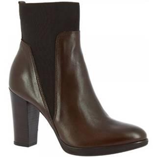 Čižmičky Leonardo Shoes  R054 NAPPA COFFEE
