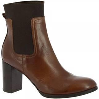 Čižmičky Leonardo Shoes  R088 TOFFY TAN