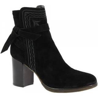 Čižmičky Leonardo Shoes  T267 CROSTA NERO