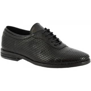 Derbie Leonardo Shoes  W027 - 01 DAKAR NERO