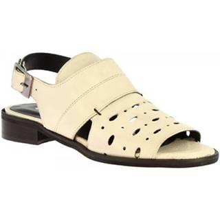 Sandále Leonardo Shoes  4677 ROK ARGILLA