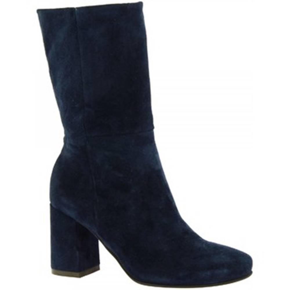 Leonardo Shoes Čižmy do mesta Leonardo Shoes  R354/C CROSTA BLU