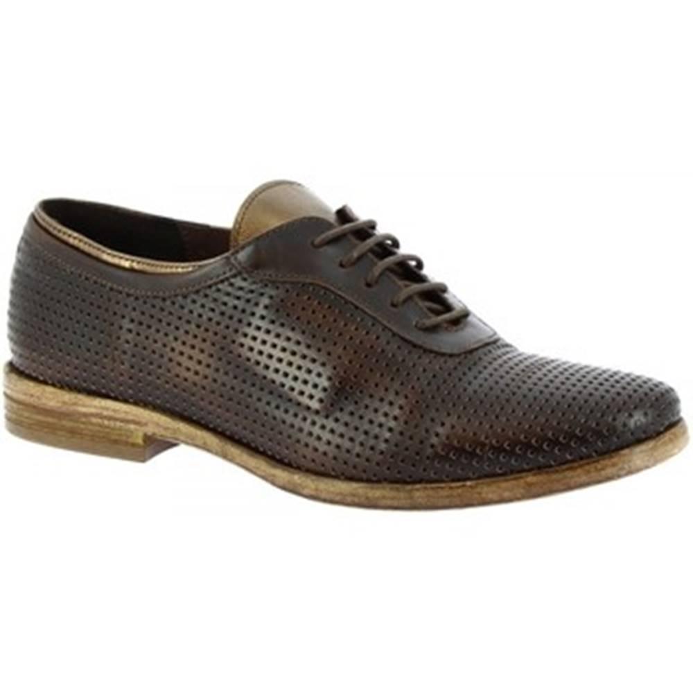 Leonardo Shoes Derbie Leonardo Shoes  W027 -01 DAKAR T. MORO