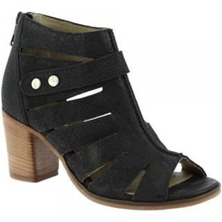 Čižmičky Leonardo Shoes  3606 NERO