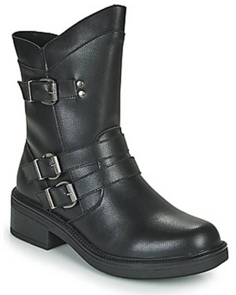 Čierne topánky Chattawak