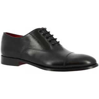Derbie Leonardo Shoes  9450E20 TOM MONTECARLO NERO