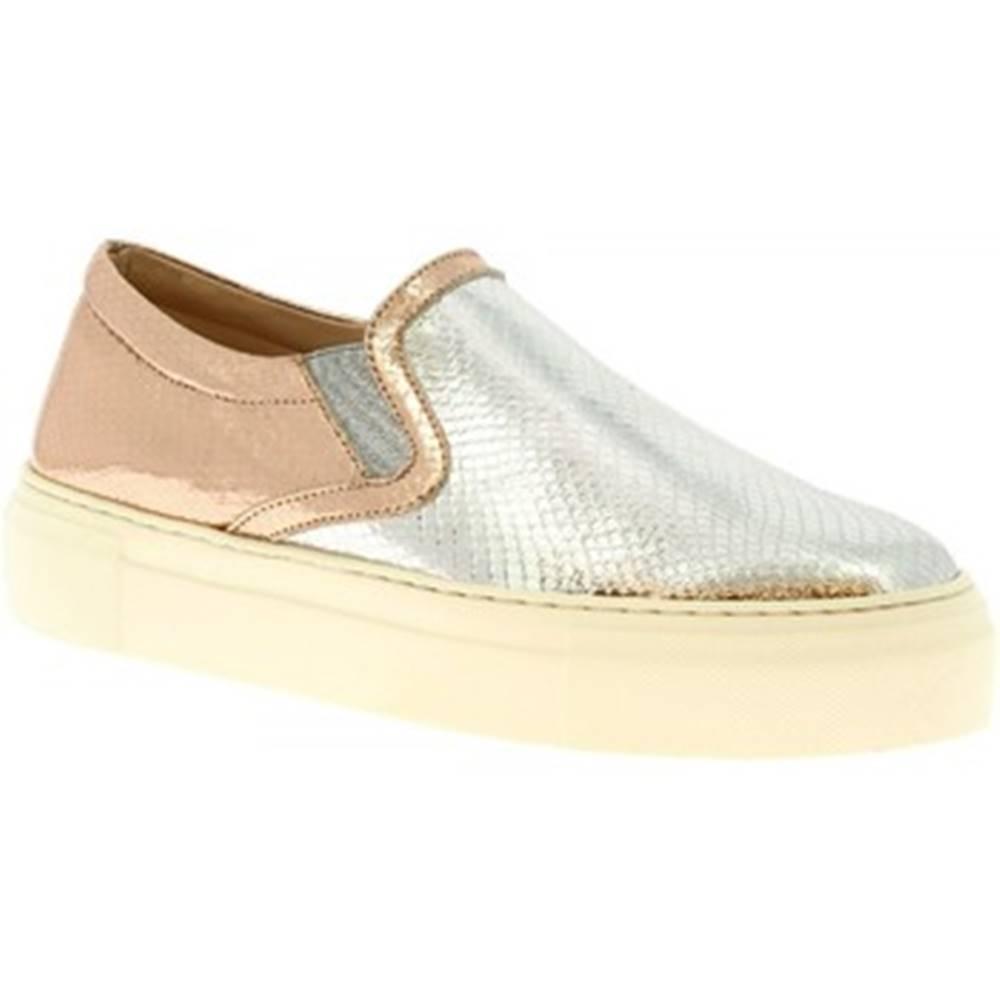 Leonardo Shoes Slip-on Leonardo Shoes  G02 MAMBA ARGENTO
