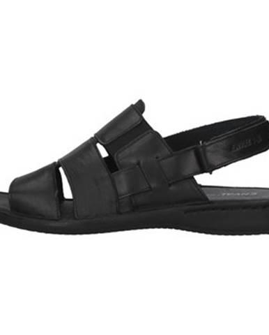 Čierne sandále Enval