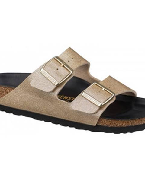 Zlaté topánky Birkenstock
