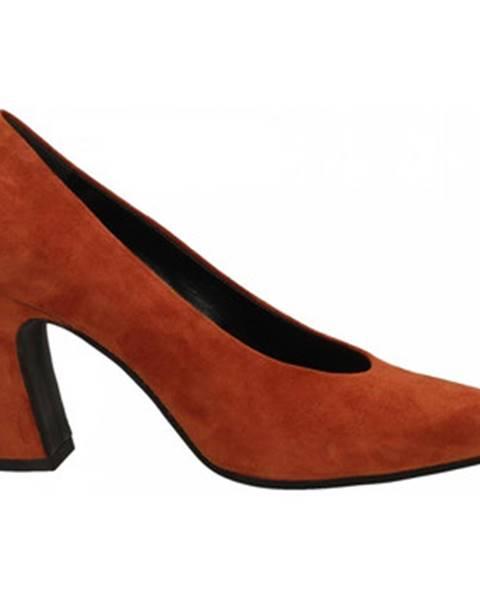 Červené topánky Malù