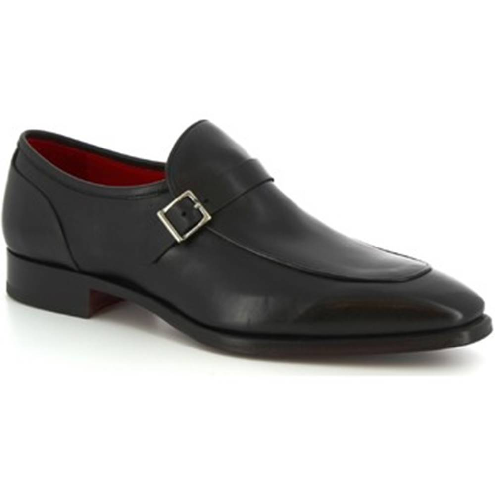 Leonardo Shoes Mokasíny Leonardo Shoes  9053/19 TOM VITELLO NERO