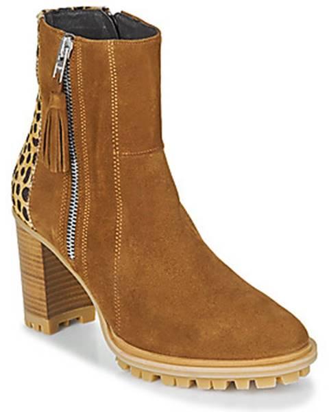 Hnedé topánky Philippe Morvan