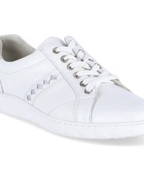 Biele tenisky Waldläufer