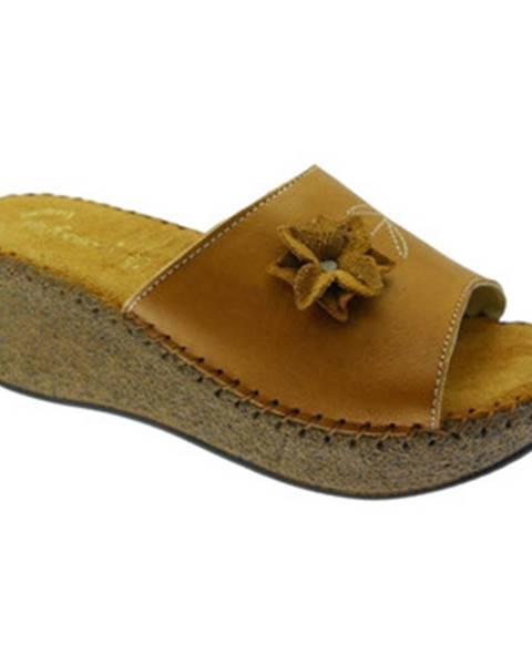 Hnedé topánky De Fonseca