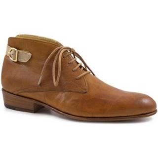 Čižmičky Leonardo Shoes  PINA 045 TAN/INCENSE