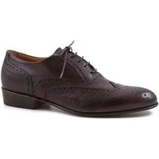 Derbie Leonardo Shoes  PINA 037 TESTA DI MORO