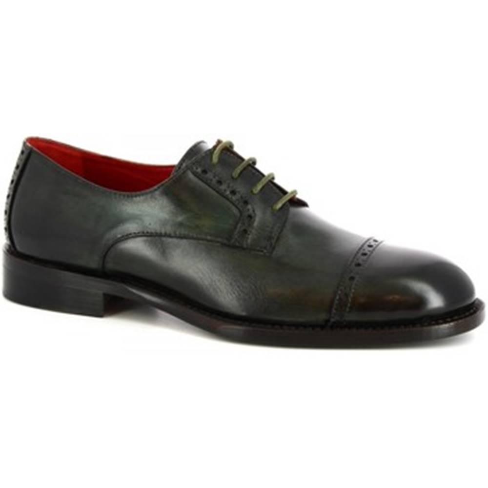 Leonardo Shoes Derbie Leonardo Shoes  506 V . VERDE