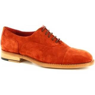 Derbie Leonardo Shoes  CR1 ROSSO