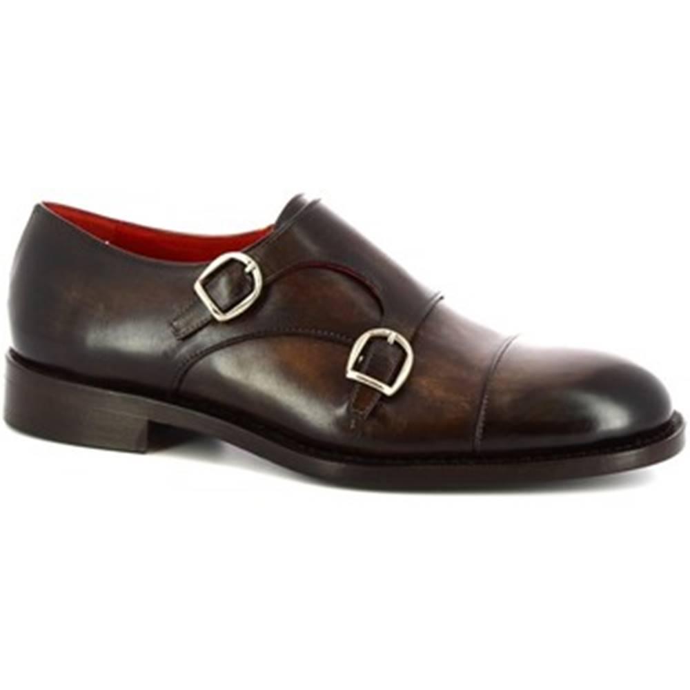 Leonardo Shoes Mokasíny Leonardo Shoes  BAT016 V. MARRONE