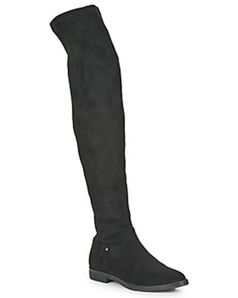 Čierne čižmy Karston