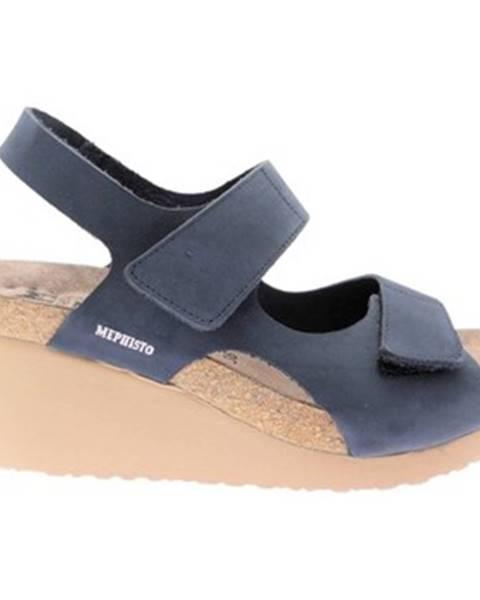 Modré topánky Mephisto