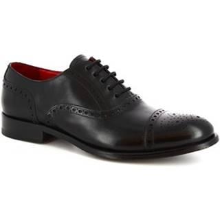 Richelieu Leonardo Shoes  5086I18 TOM MONTECARLO NERO