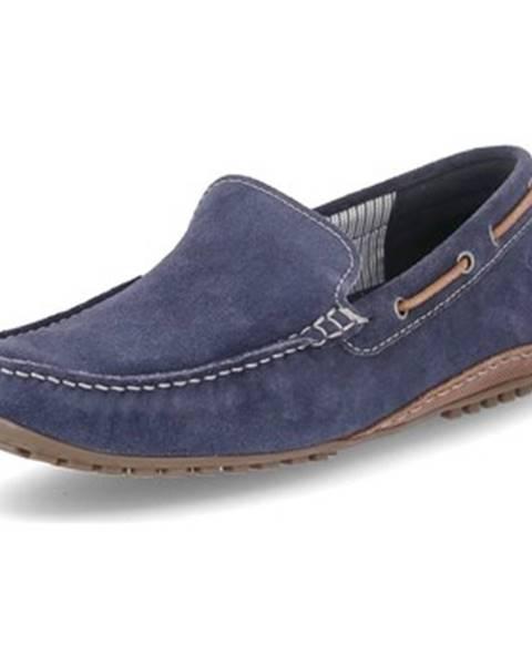 Modré topánky Sioux