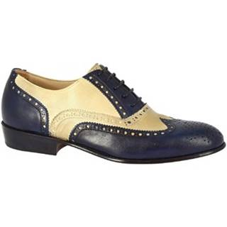 Derbie Leonardo Shoes  PINA 037 BLEU/INCENSO