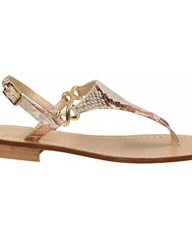 Hnedé topánky Paolo Ferrara