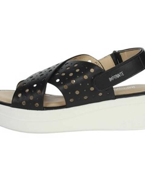 Čierne topánky Impronte