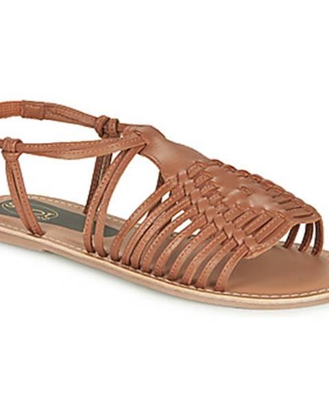 Hnedé topánky Spot on