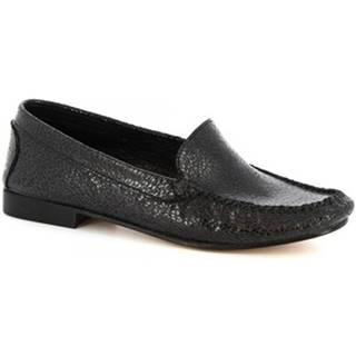 Sandále Leonardo Shoes  318 EQUIPAGE NERO