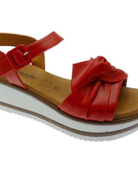 Červené topánky Susimoda