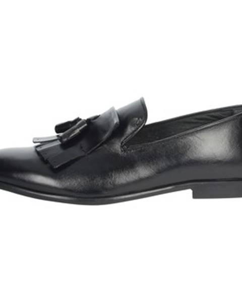 Čierne topánky Antony Sander