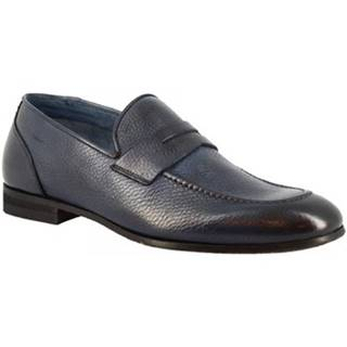 Mokasíny Leonardo Shoes  9493E20 TOM ALCE AV BLU